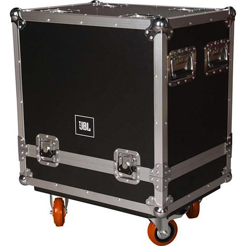 JBL VRX Flight Case for Two VRX932LAP Speakers (Orange Wheels)