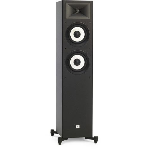 JBL Stage A180 Floorstanding Speaker (Black, Single)