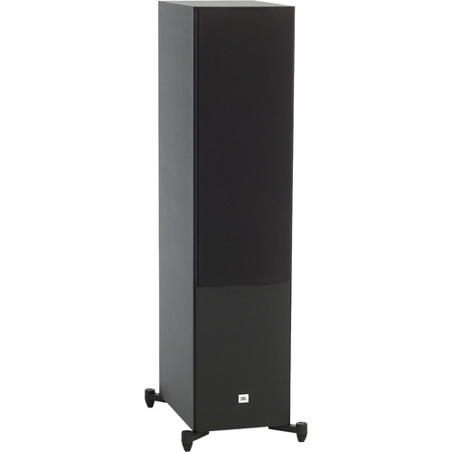 JBL Stage A190 Floorstanding Speaker (Black, Single)