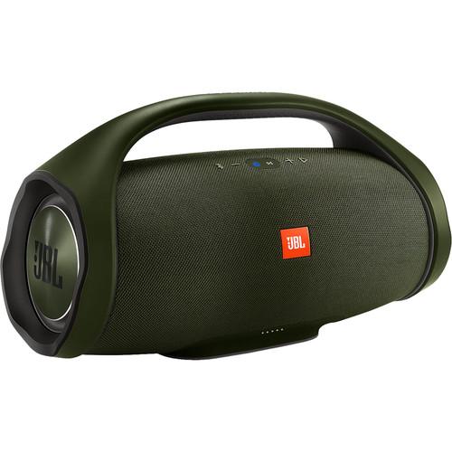 JBL Boombox Portable Bluetooth Speaker (Forest Green)
