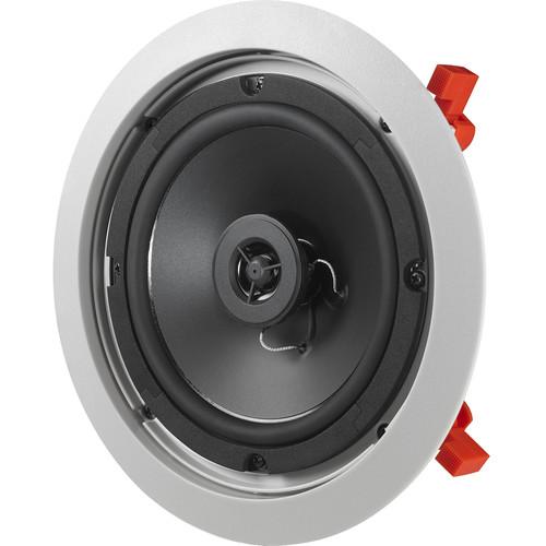 "JBL C-6IC 6.5"" Two-Way In-Ceiling Speaker (White, Single)"