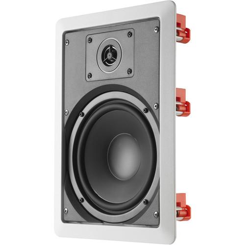 JBL C-6IW In-Ceiling & In-Wall 2-Way Loudspeaker (Single, White)