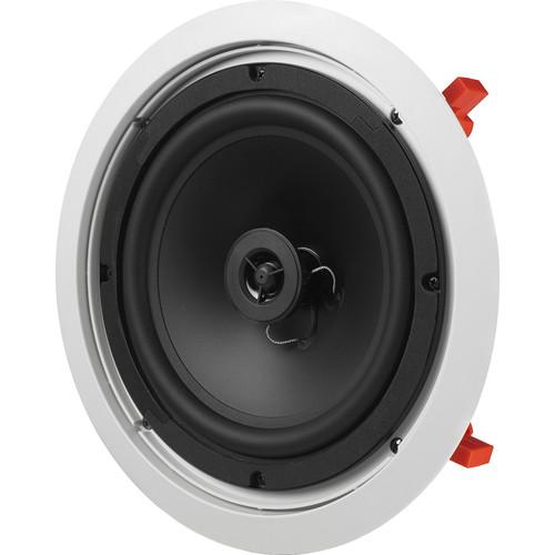"""JBL C-Series 8"""" In-Ceiling & In-Wall Loudspeaker (White)"""