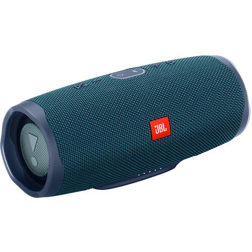 JBL Charge 4 Portable Bluetooth Speaker (Blue)