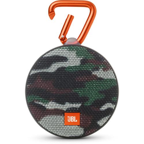 JBL Clip 2 Speaker (Camouflage)