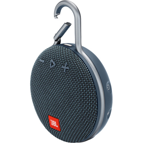 JBL Clip 3 Portable Bluetooth Speaker (Ocean Blue)