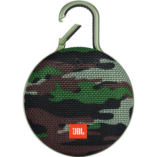 JBL Clip 3 Portable Bluetooth Speaker (Squad)