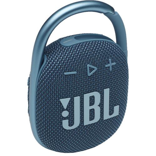 JBL Clip 4 Portable Bluetooth Speaker (Blue)