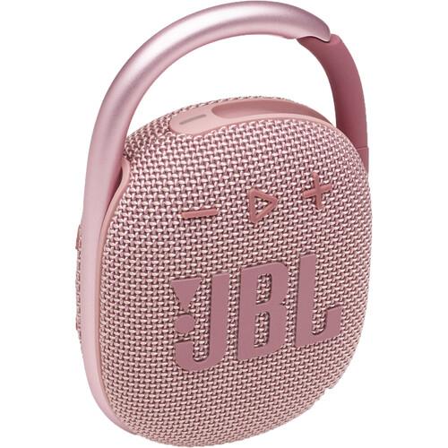JBL Clip 4 Portable Bluetooth Speaker (Pink)
