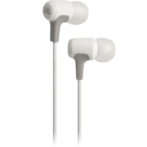 JBL E15 In-Ear Headphones (White)