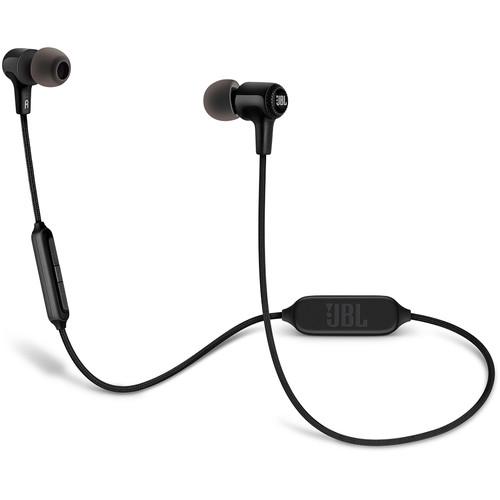 JBL E25BT Bluetooth In-Ear Headphones (Black)