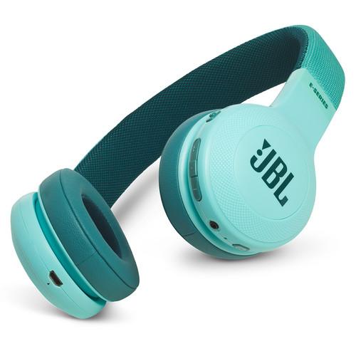 JBL E45BT Bluetooth On-Ear Headphones (Teal)