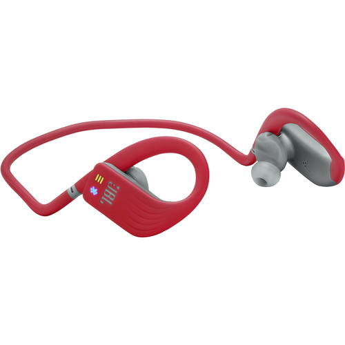 JBL Endurance DIVE Waterproof Wireless In-Ear Headphones with MP3 Player (Red)