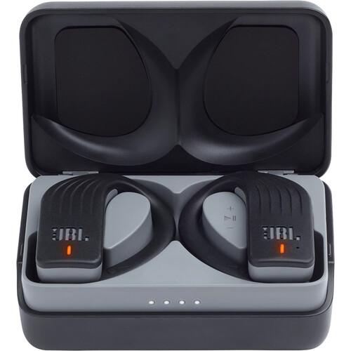 JBL Endurance PEAK Wireless In-Ear Sport Headphones (Black, New Packaging)