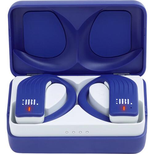 JBL Endurance PEAK Wireless In-Ear Sport Headphones (Blue, New Packaging)