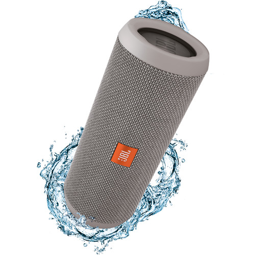 JBL Flip 3 Wireless Portable Stereo Speaker (Gray)