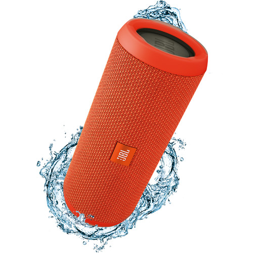 JBL Flip 3 Wireless Portable Stereo Speaker (Orange)
