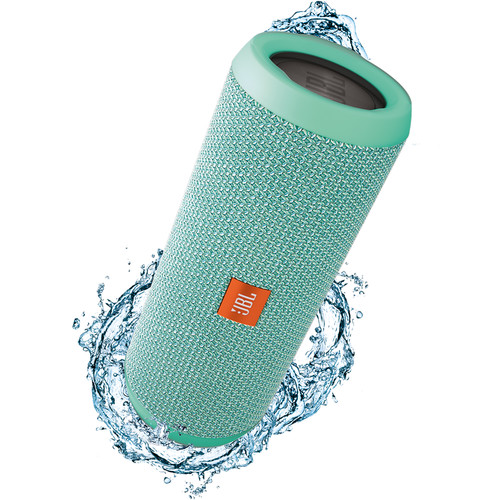 JBL Flip 3 Wireless Portable Stereo Speaker (Teal)