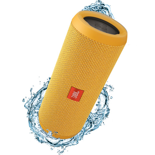 JBL Flip 3 Wireless Portable Stereo Speaker (Yellow)
