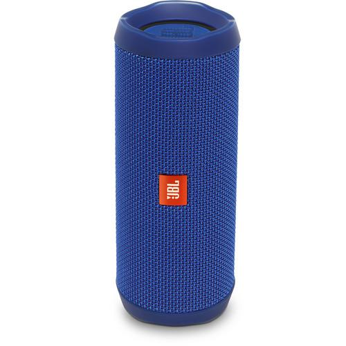 JBL Flip 4 Wireless Portable Stereo Speaker (Blue)