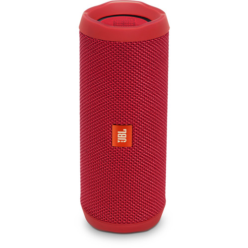 JBL Flip 4 Wireless Portable Stereo Speaker (Red)