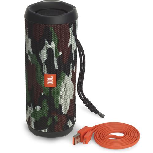 JBL Flip 4 Wireless Portable Stereo Speaker (Camouflage)