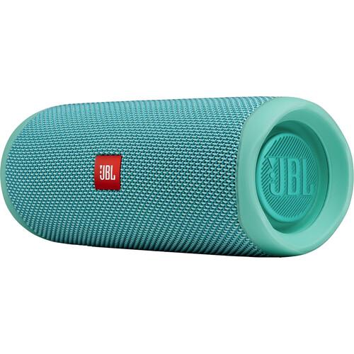 JBL Flip 5 Waterproof Bluetooth Speaker (River Teal)