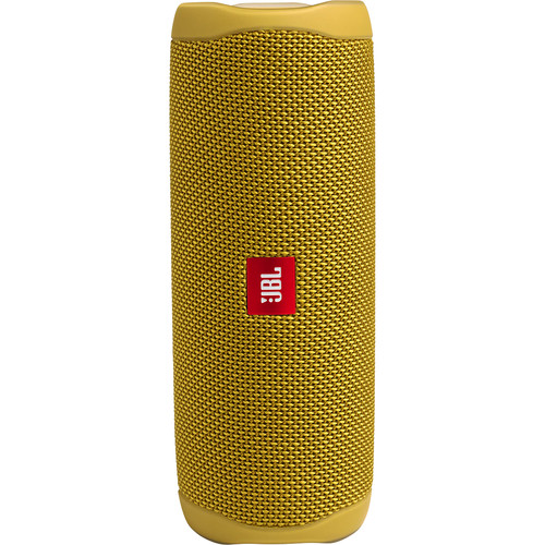 JBL Flip 5 Waterproof Bluetooth Speaker (Mustard Yellow)