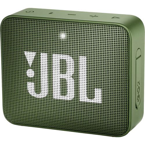 JBL GO 2 Portable Wireless Speaker (Moss Green)