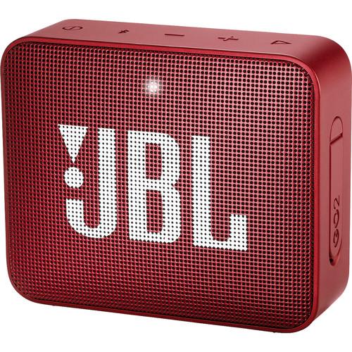 JBL GO 2 Portable Wireless Speaker (Ruby Red)