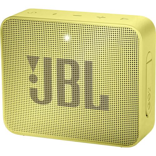 JBL GO 2 Portable Wireless Speaker (Lemonade Yellow)