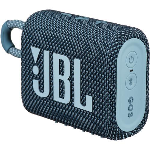 JBL Go 3 Portable Bluetooth Speaker (Blue)