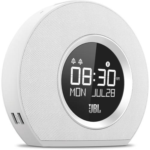 JBL Horizon Clock Radio (White)
