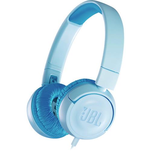 JBL JR300 Volume-Limited Kids On-Ear Headphones (Ice Blue)