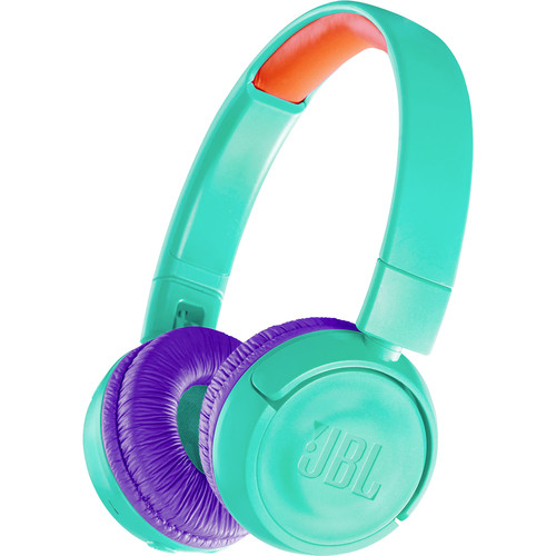 JBL JR300BT Kids Wireless On-Ear Headphones (Tropic Teal)