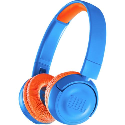 JBL JR300BT Kids Wireless On-Ear Headphones (Rocker Blue)