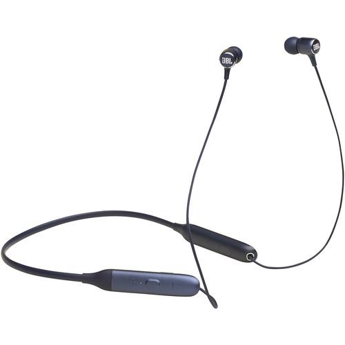 JBL Live 220BT Wireless Neckband In-Ear Headphones (Blue)