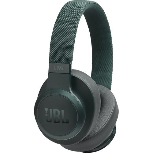JBL LIVE 500BT Wireless Over-Ear Headphones (Green)