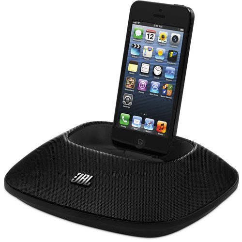 JBL OnBeat Micro Speaker Dock for iPhone 5 (Black)
