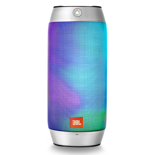 Jbl pulse 2 wireless portable speaker silver jblpulse2silus for Housse jbl pulse 3