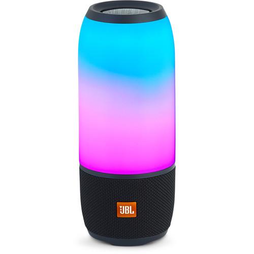 JBL Pulse 3 Waterproof Portable Bluetooth Speaker (Black)