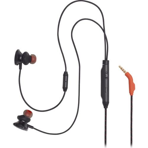 JBL Quantum 50 Wired In-Ear Gaming Headphones (Black)