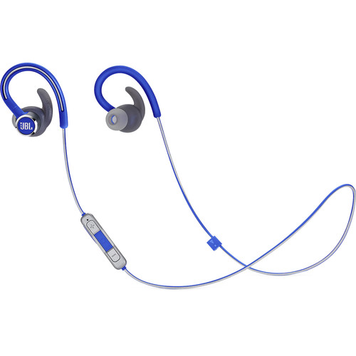 JBL Reflect Contour 2 In-Ear Secure Fit Wireless Sport Headphones (Blue)