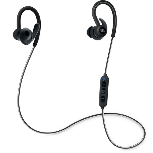 JBL Reflect Contour Bluetooth Wireless Sports Headphones (Black)
