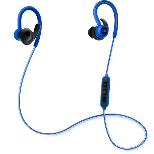 JBL Reflect Contour Bluetooth Wireless Sports Headphones (Blue)