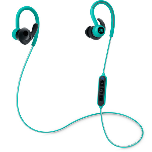 JBL Reflect Contour Bluetooth Wireless Sports Headphones (Teal)