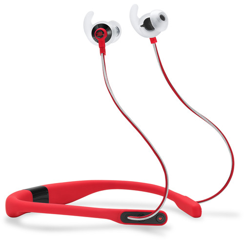 JBL Reflect Fit Heart Rate Wireless Headphones (Red)