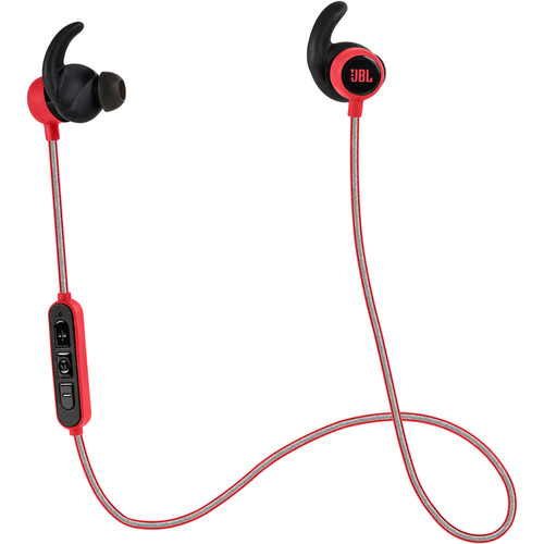 JBL Reflect Mini Wireless Earbuds (Red)