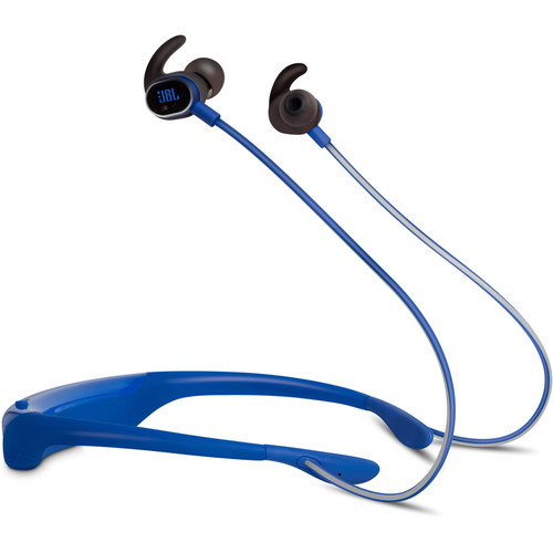 JBL Reflect Response Touch-Control Bluetooth In-Ear Headphones (Blue)