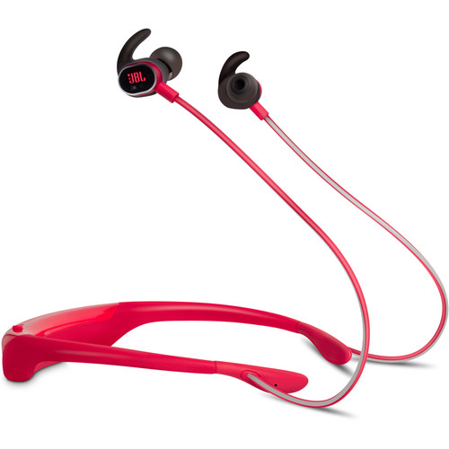 JBL Reflect Response Touch-Control Bluetooth In-Ear Headphones (Red)